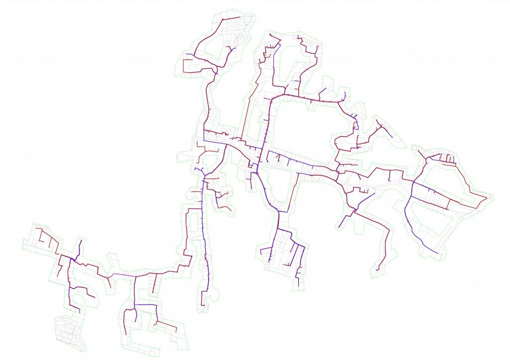 mapa Zasań